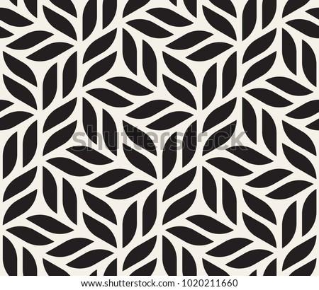 Stylish Wiederholung Textur schwarz weiß geometrischen Stock foto © samolevsky