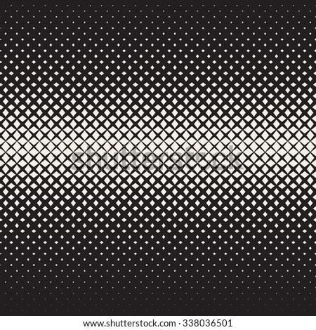 Geometric Seamless Star Shapes Pattern. Halftone Gradient Effect. Stylish Vector Illustration Stock photo © samolevsky