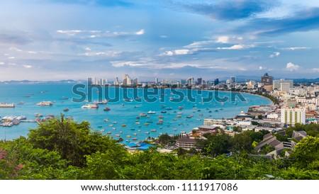 Pattaya Gulf, Thailand Stock photo © bloodua