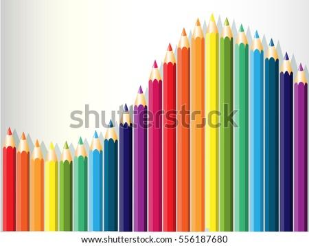 dynamic color pencils Stock photo © smithore
