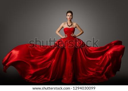 tam · uzunlukta · portre · gündelik · kadın · poz · yalıtılmış - stok fotoğraf © deandrobot