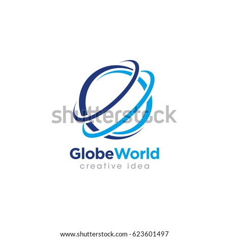 kék · bolygó · modern · hálózat · szimbólumok · üzletember - stock fotó © janpietruszka
