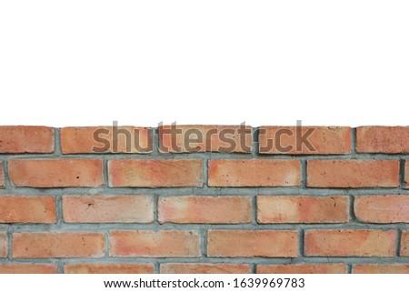 Kamieniarstwo cegieł budowy murem cegły Zdjęcia stock © orensila