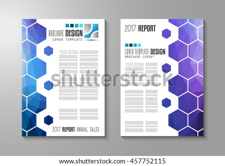 Brochure template, Flyer Design or Depliant Cover for business purposes. Stock photo © DavidArts