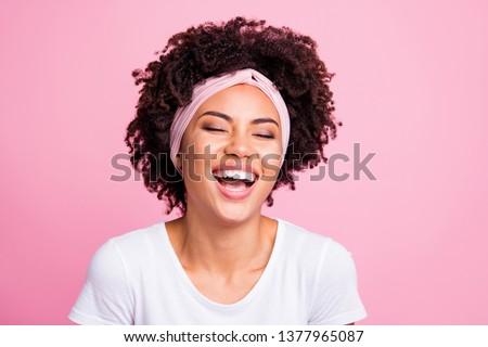 Africano senhora branco cachecol Foto stock © deandrobot