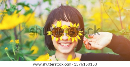 beautiful young teen girl portrait open present romantic surpri stock photo © victoria_andreas