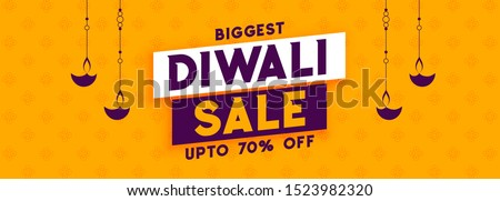 Diwali seizoen korting verkoop banner vuurwerk Stockfoto © SArts