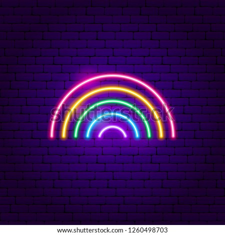 LGBT sign Unicorn and rainbow. Symbol of gays and lesbians, bise Stock photo © popaukropa