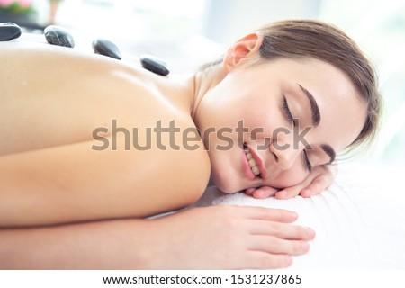 rilassante · benessere · massaggio · spa · salone - foto d'archivio © nikodzhi