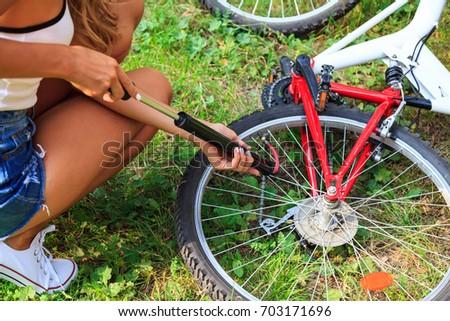 rowerów · opon · powrót · drogowego · sportu - zdjęcia stock © nobilior