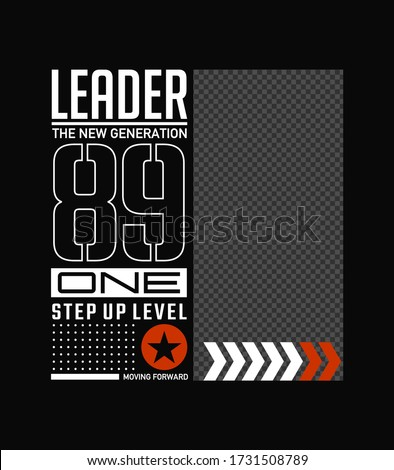 Moderne tshirt ontwerp transparant print mobiele Stockfoto © ikopylov