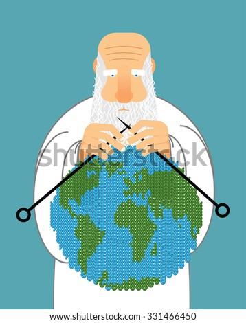 神 地球 世界 ウール ストックフォト © popaukropa