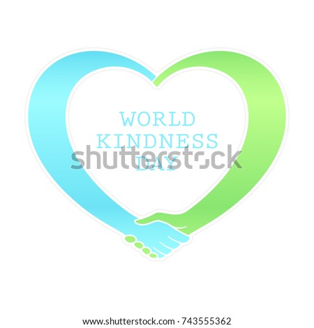 рукопожатие символ синий сердце изолированный белый Сток-фото © Lady-Luck