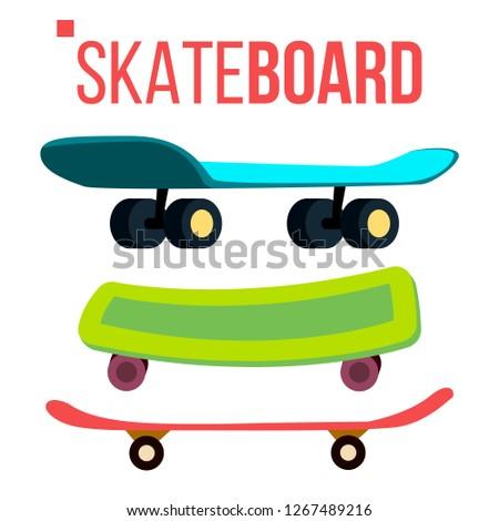 skateboarding · conjunto · cor · patinador · fundo · laranja - foto stock © pikepicture