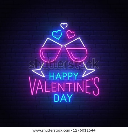 sale happy valentines day background red pink and orange balloon in form of heart with bow and ri stock photo © olehsvetiukha
