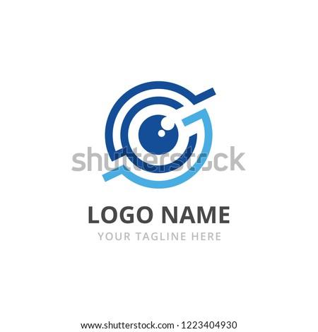Zukunft · Vision · logo · Auge · Business · Gesicht - stock foto © kyryloff