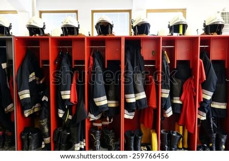 消防 ヘルメット ブーツ 次 ストックフォト © galitskaya