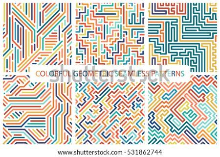 Kleurrijk trillend vector collectie fashion design Stockfoto © ExpressVectors