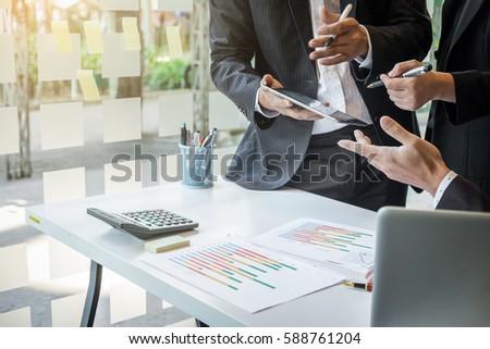 Stok fotoğraf: Takım · süreç · iş · finansal · ilerleme