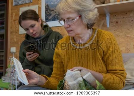 Görmek mutlu anne zaman kız Stok fotoğraf © wavebreak_media