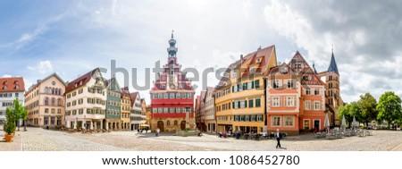 квадратный Германия мнение здании строительство Сток-фото © borisb17