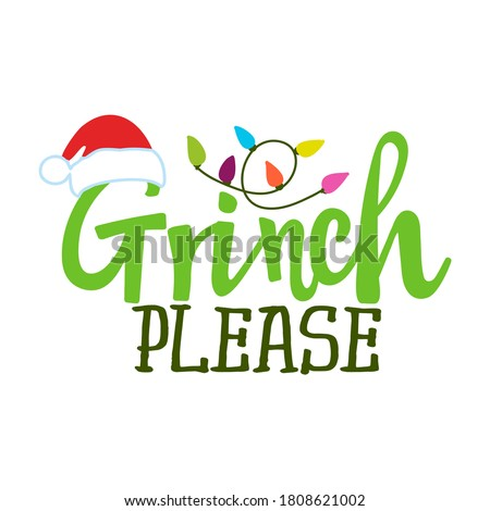 Funny Christmas graphic print, t shirt design for ugly sweater xmas party. Holiday decor with text - Stock photo © JeksonGraphics