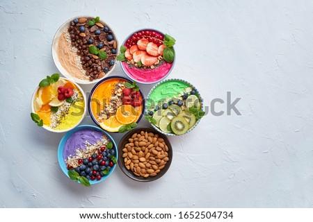 Egészséges különböző granola energia fehérje rácsok Stock fotó © dash