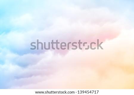 Hemel roze Rood kleuren full frame Stockfoto © amok