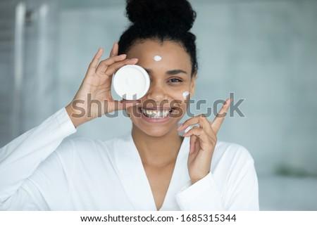 Beauty complexion face cream for sensitive skin, luxury spa cosm Stock photo © Anneleven