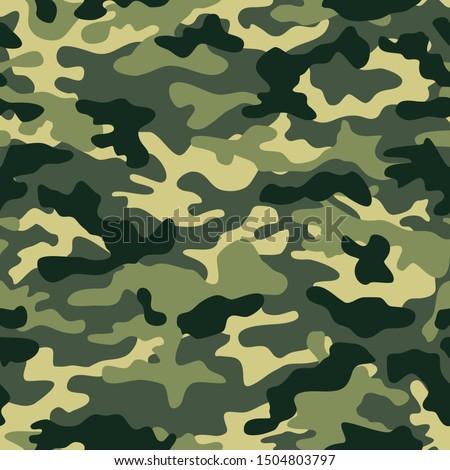 Naadloos digitale klassiek camouflage patroon Stockfoto © ESSL