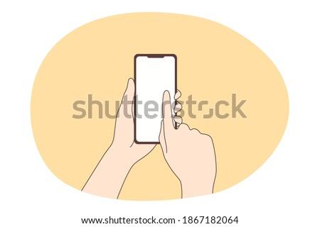 Mano humana enviar amor mensaje Foto stock © karetniy