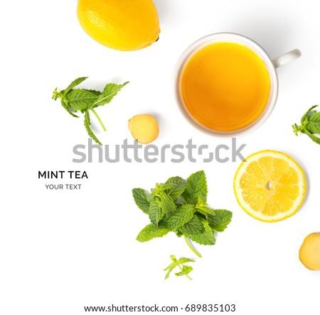 зеленый чай природного Кубок Top мнение Сток-фото © butenkow