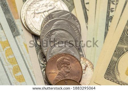 アメリカン · お金 · 金融 - ストックフォト © balefire9