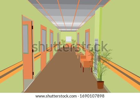 Perspectiva teto construção design de interiores salão espaço Foto stock © Victoria_Andreas