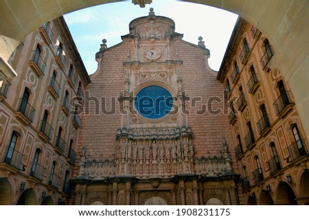 列 · バルセロナ · スペイン · フロント · 魔法 · 噴水 - ストックフォト © billperry