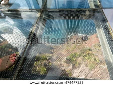 Cabo Girao Cliff Stock photo © dinozzaver