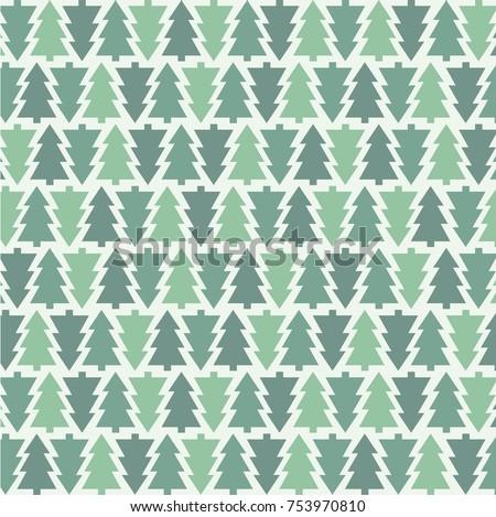 Christmas Tree Pattern Stock photo © Lightsource