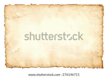 Vecchio sporca colorato carta da lettere pagina isolato Foto d'archivio © latent