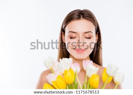 женственность · молодые · красивой · женщину - Сток-фото © hasloo