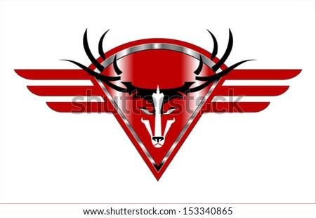 Dólar cabeza icono rojo metálico Foto stock © HunterX
