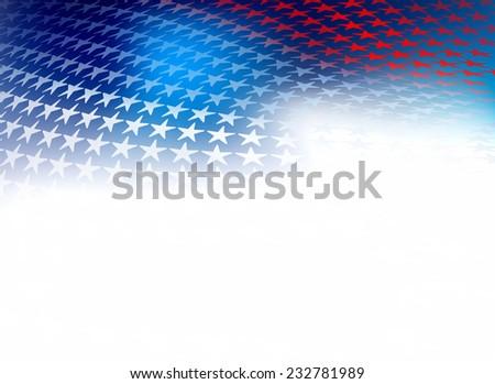 Amerikan gün girdap dalga yansıma şablon Stok fotoğraf © bharat