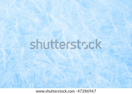 Frozen ice pattern on snow by water photo. White winter mushrooms. Stock photo © Hermione