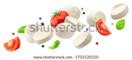tomato and mozzarella stock photo © digifoodstock