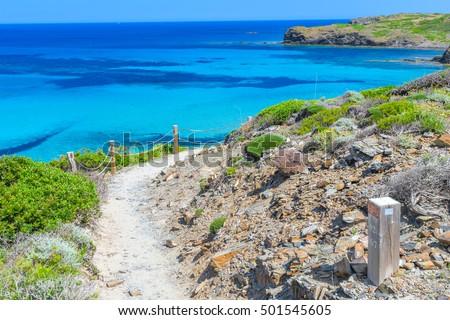 akdeniz · deniz · plaj · ada · İspanya - stok fotoğraf © tuulijumala