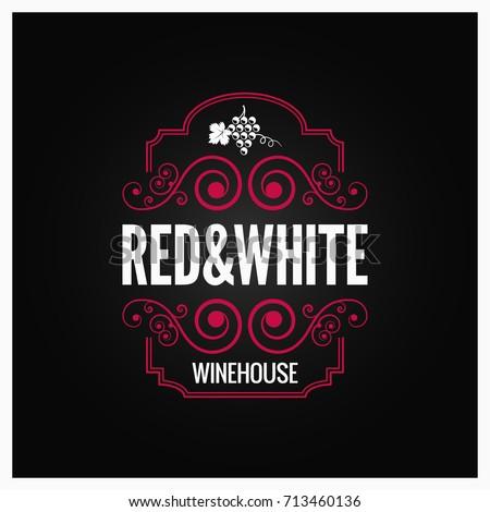 wijn · winkel · logo · sjabloon · wijnfles · wijnstok - stockfoto © jeksongraphics