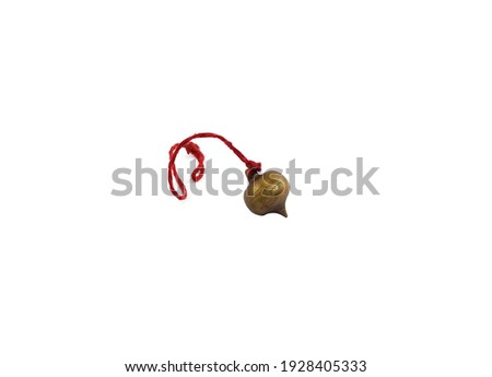Magic ball of predictions isolated. Clairvoyant Accessory Stock photo © MaryValery