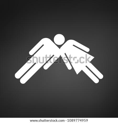 travail · d'équipe · succès · Homme · Homme · une · tête - photo stock © kyryloff