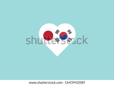 Japón ciencias económicas japonés bandera negocios tabla Foto stock © m_pavlov