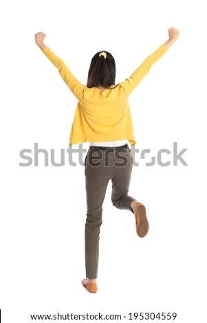 アジャイル · 女性 · 空気 · 魅力のある女性 · 高い · 腕 - ストックフォト © feedough