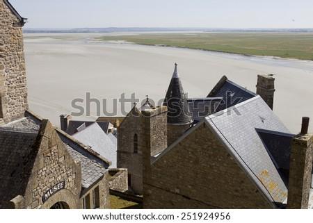 házak · bent · szent · észak · Franciaország · Normandia - stock fotó © doomko